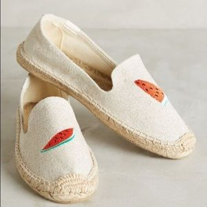 Soludos Watermelon Embroidered Espadrilles 7